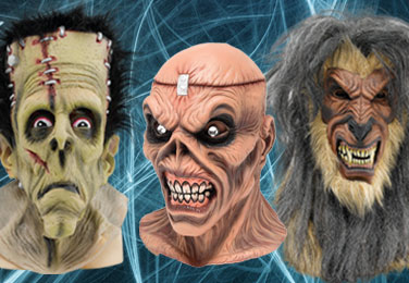 All kinds of Masks  - Quality Latex Masks - Plastic Masks - Kids Masks